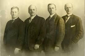 Quattro fondatori Rotary