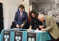 firma della convenzione con ESOF