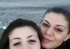 Sgyada con la figlia