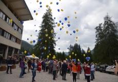 4 Il lancio palloncini