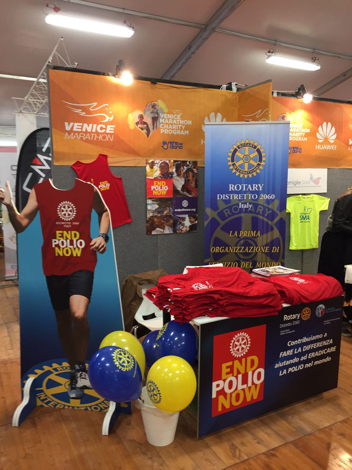 Lo stand Rotary