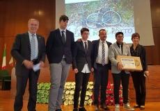Roma Baldassi con i vincitori